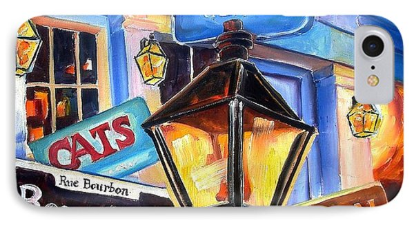 Signs Of Bourbon Street IPhone Case by Diane Millsap