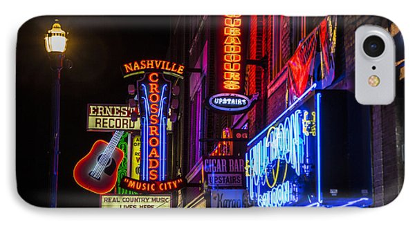Signs Of Music Row Nashville Phone Case by John McGraw