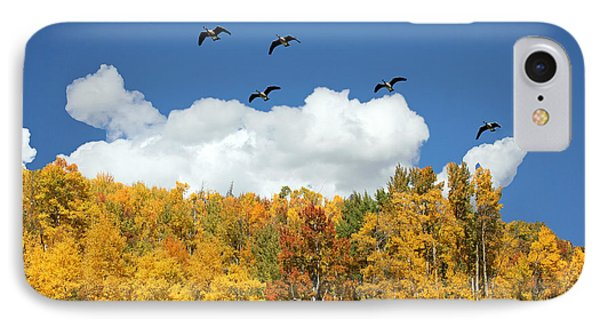 Signs Of The Season IPhone Case by Bob Hislop