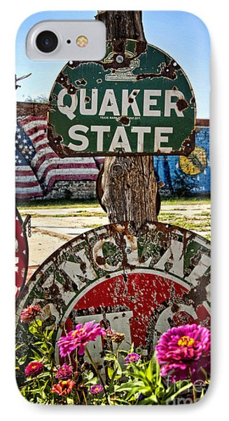 Signs Of The Times On Route 66 Phone Case by Lee Craig