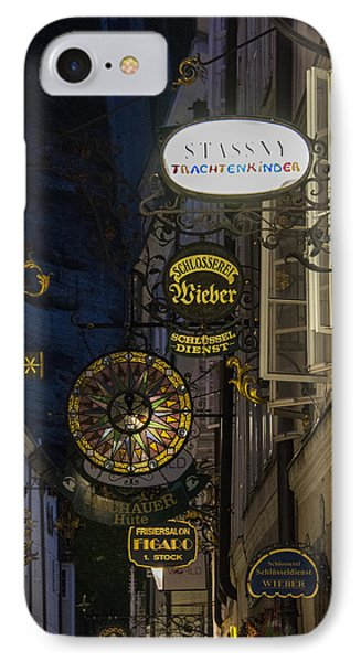 IPhone Case featuring the photograph Signs by Wade Aiken