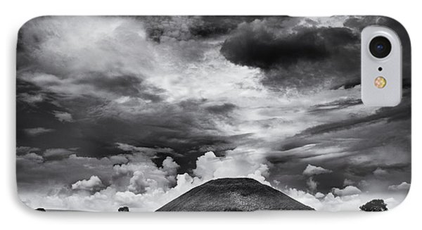 Silbury Hill  IPhone Case by Tim Gainey