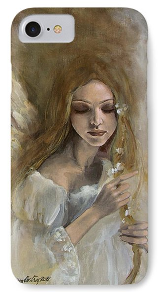Silence IPhone Case by Dorina  Costras