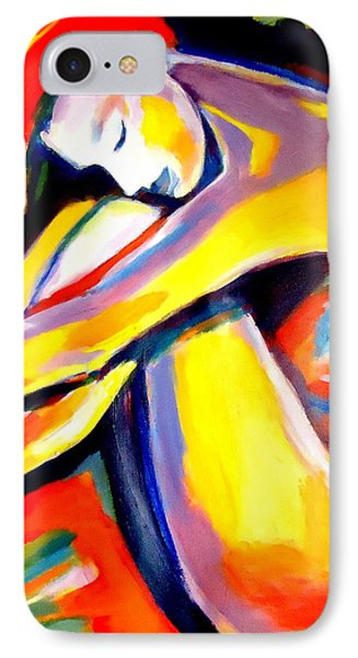 IPhone Case featuring the painting Silence by Helena Wierzbicki