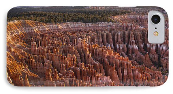 Silent City - Bryce Canyon IPhone Case by Eduard Moldoveanu