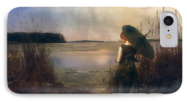 Silent Goodbyes IPhone Case by John Rivera