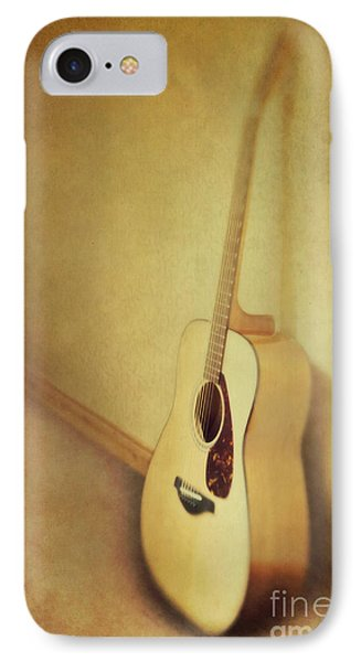 Silent Guitar IPhone Case by Priska Wettstein