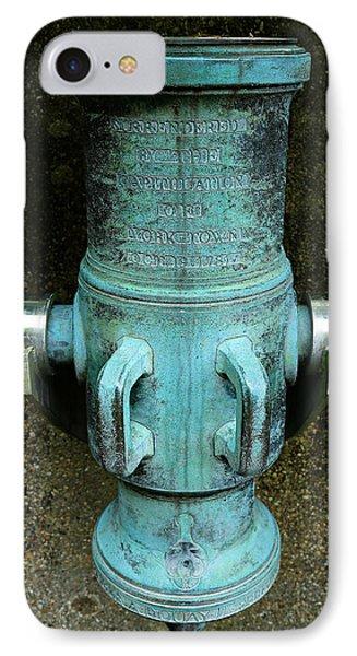 Silent Howitzer - British Surrender At Yorktown IPhone Case