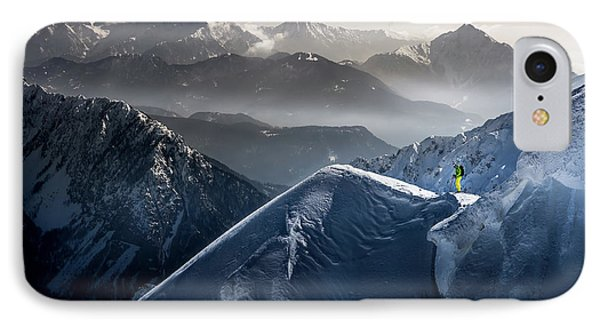 Silent Moments Before Descent IPhone Case