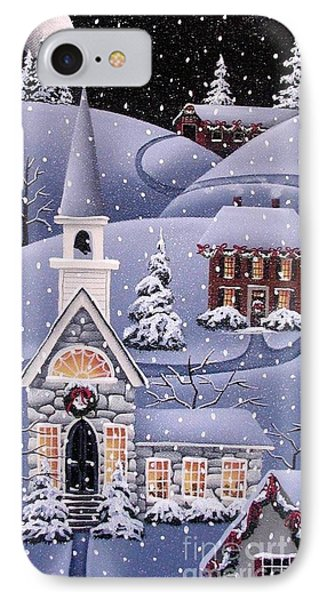 Silent Night IPhone Case by Catherine Holman