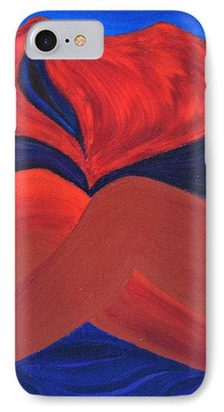 Silent She Emerges Phone Case by Daina White