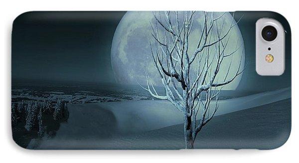 Silent Winter Evening  IPhone Case