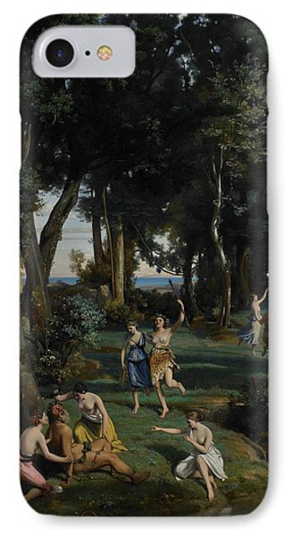 Silenus Phone Case by Jean Baptiste Camille Corot