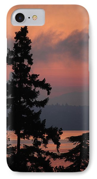 IPhone Case featuring the photograph Silhouette At Sunrise by E Faithe Lester