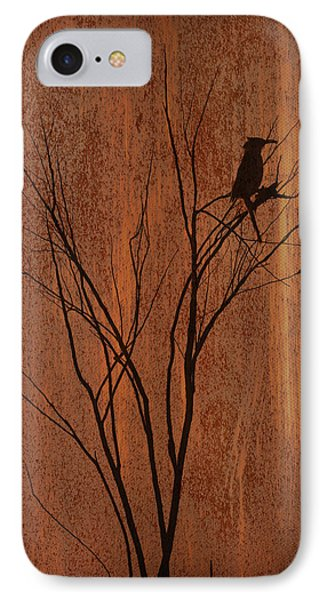 Silhouette IPhone Case by Barbara Manis