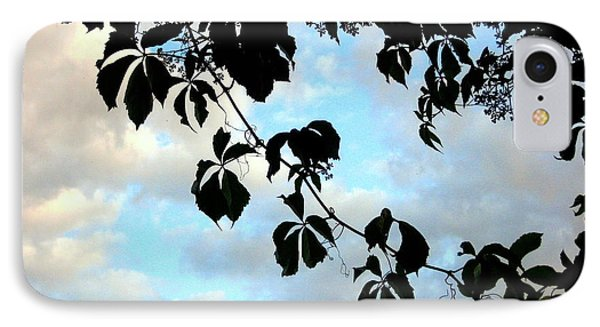 IPhone Case featuring the photograph Silhouette by Kathy Bassett