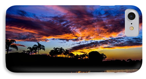 Silhouette Of Color IPhone Case by Alan Marlowe