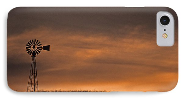 Silhouette Windmill IPhone Case