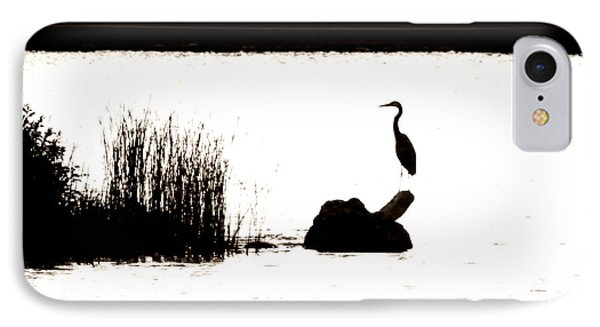 IPhone Case featuring the photograph Silhouette by Zinvolle Art