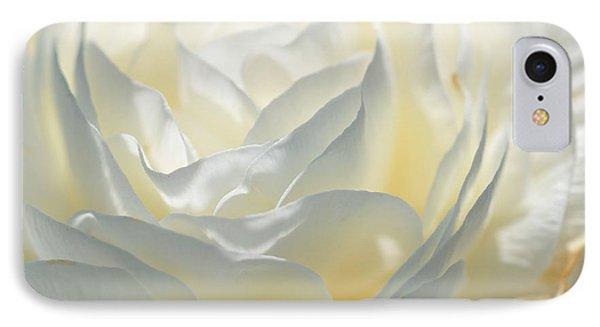 Silk Cream Floral Phone Case by Elaine Manley