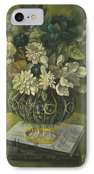 Silk Floral Arrangement IPhone Case