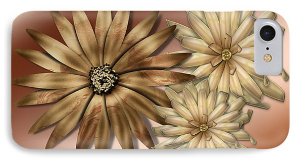 Silk Flowers Phone Case by Tina M Wenger