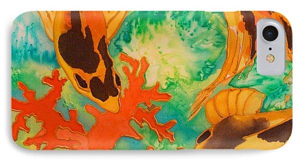 Silk Koi Phone Case by Joanne Smoley