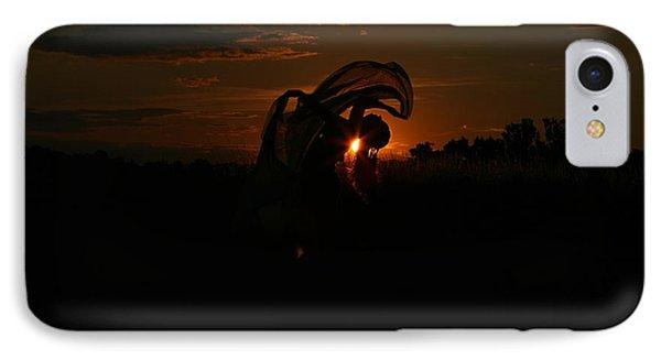 Silk Sunset IPhone Case by Leeon Pezok