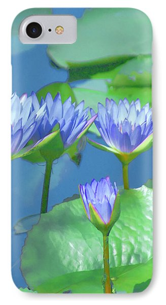iPhone 7 Case - Silken Lilies by Holly Kempe