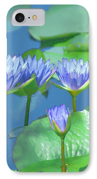 Silken Lilies IPhone Case