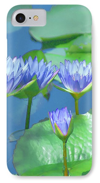 Silken Lilies IPhone Case by Holly Kempe