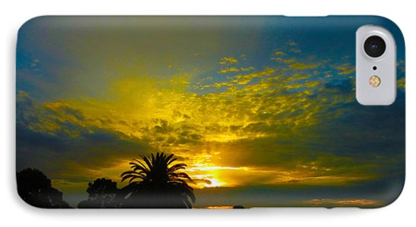 Silken Sunset IPhone Case