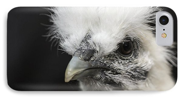 Silkie Chicken Portrait IPhone Case