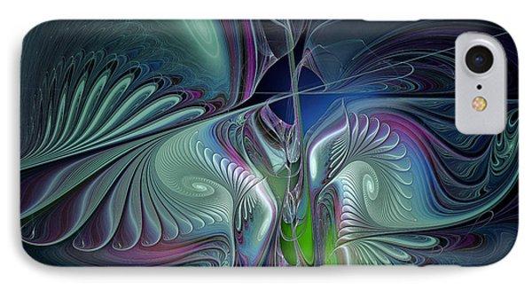Silky Nights-fractal Design IPhone Case