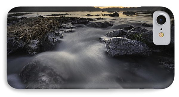 Silky River Phone Case by Davorin Mance