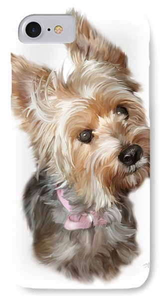 Silky Terrier IPhone Case by Paul Tagliamonte