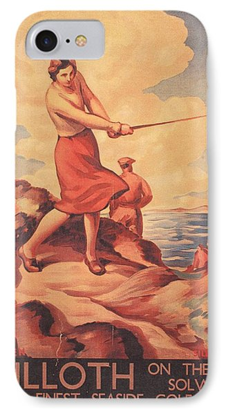 Silloth On The Solway, Advertisement IPhone Case by G. Stanislaus Brien