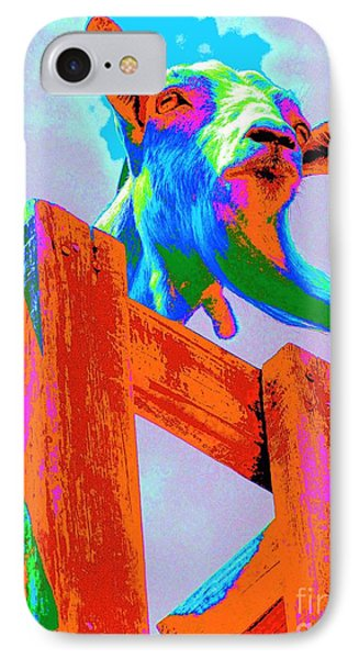 Silly Billy In Many Colors Photo Impressionism IPhone Case by Annie Zeno