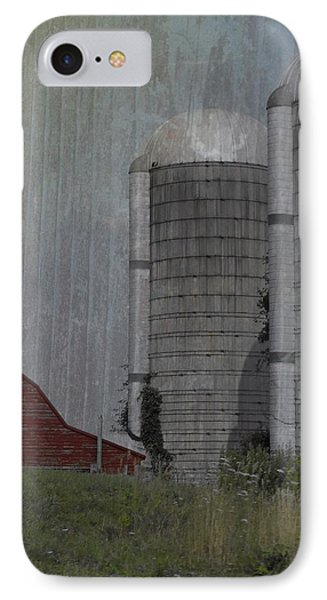 Silo And Barn IPhone Case by Photographic Arts And Design Studio