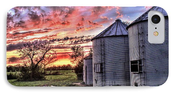 Silo Sunset IPhone Case