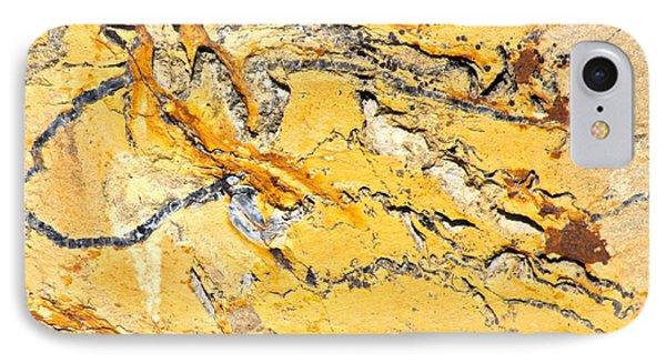 Siltstone Abstract Phone Case by Karon Melillo DeVega