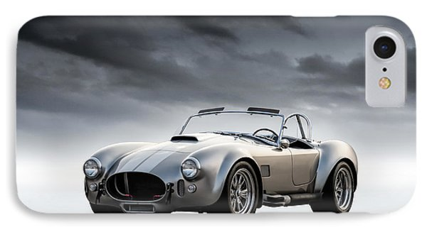 Silver Ac Cobra IPhone 7 Case by Douglas Pittman
