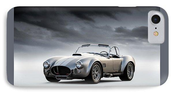Silver Ac Cobra IPhone 7 Case by Douglas Pittman