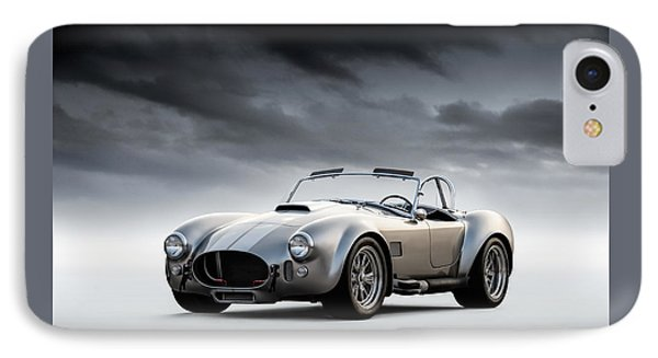 Silver Ac Cobra IPhone Case by Douglas Pittman