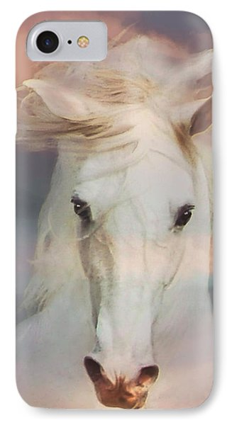 Silver Boy IPhone Case by Melinda Hughes-Berland