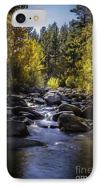Silver Creek Phone Case by Mitch Shindelbower