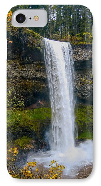 IPhone Case featuring the photograph Silver Falls - South Falls by Dennis Bucklin