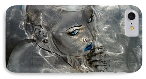 Portrait - ' Silver Flight ' IPhone Case