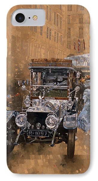 Silver Grace At The Savoy IPhone Case