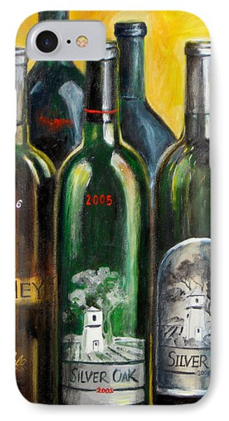 IPhone Case featuring the painting Silver Oak by Sheri  Chakamian